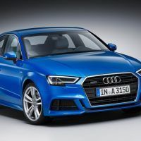 2017 Audi A3 Right Front Three Quarters