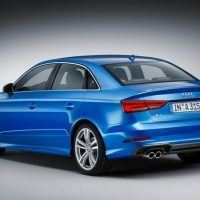 2017 Audi A3 Left Rear Three Quarters