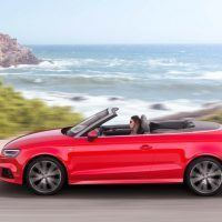 2017 Audi A3 Cabriolet Left Side Profile