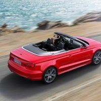 2017 Audi A3 Cabriolet Right Rear Three Quarters