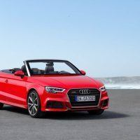 2017 Audi A3 Cabriolet Right Front Three Quarters