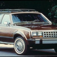 The final AMC cars were the 1988 Eagles. By this time only the station wagon was offered and only in one model, which had most major options: air conditioning, AM/FM radio, etc., as standard equipment. All were built before the end of 1987.