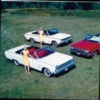 The 1965 model year saw many changes in the Rambler lineup. One change was that for the first time a convertible model was offered in all three series; American, Classic, and Ambassador. During the year the company produced the 3 millionth modern Rambler.