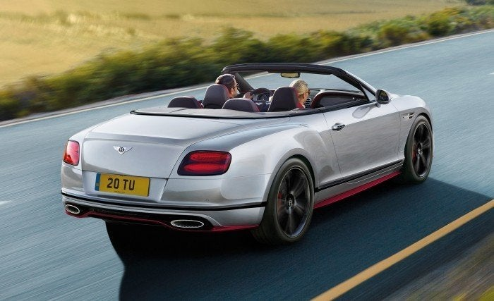 2017 Bentley Continental GT Speed Black Edition Convertible