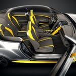 2017 Bentley Continental GT Speed Interior in Cyber Yellow