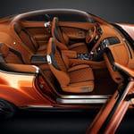 Bentley Continental GT Speed Black Edition interior cutaway2