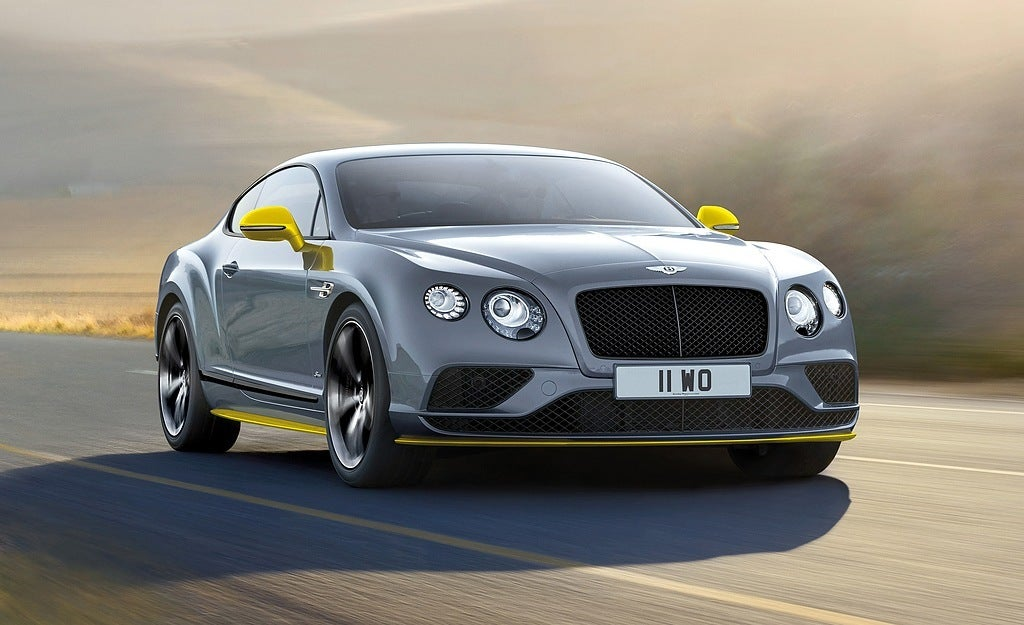 First Look: 2017 Bentley Continental GT Speed