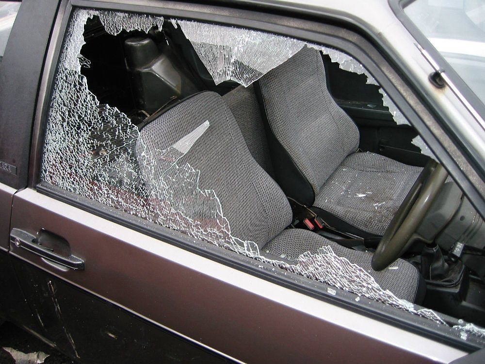 Car Window Broken