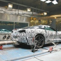 In addition to on-road testing in various ambient weather conditions - from the cold of Canada to the heat of Death Valley - the C7 undergoes a series of tests inside the climate chamber at GM's Milford Proving Grounds in Michigan.