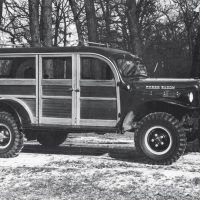 This wagon version of the 1948 Power Wagon is the forerunner to the modern full-size SUV.