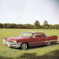 The 1960 Dodge Dart put a fitting finish on the excesses of the '50s. Slightly smaller (but not by much), the Dart had vestigial tailfins. Within two years, the fins would be gone forever.