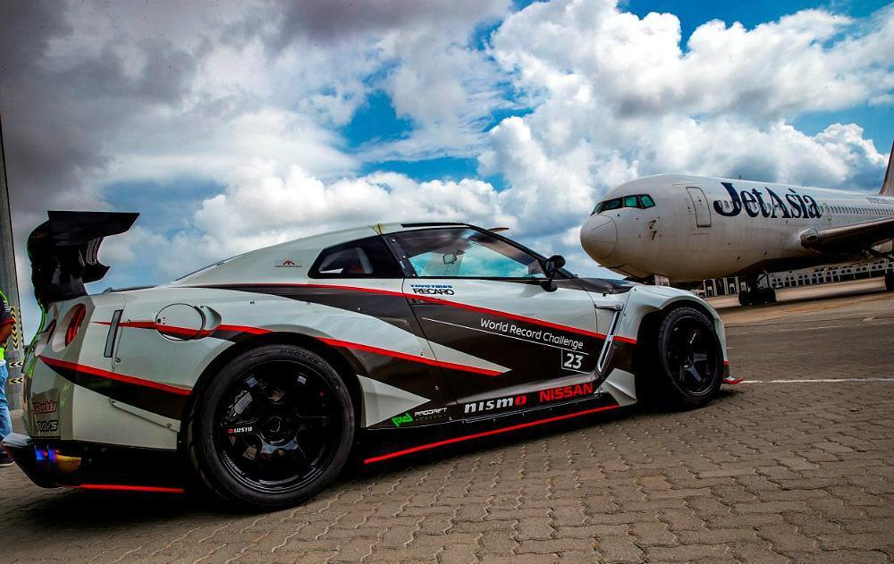 Nissan GT-R Claims Fastest Drift Title