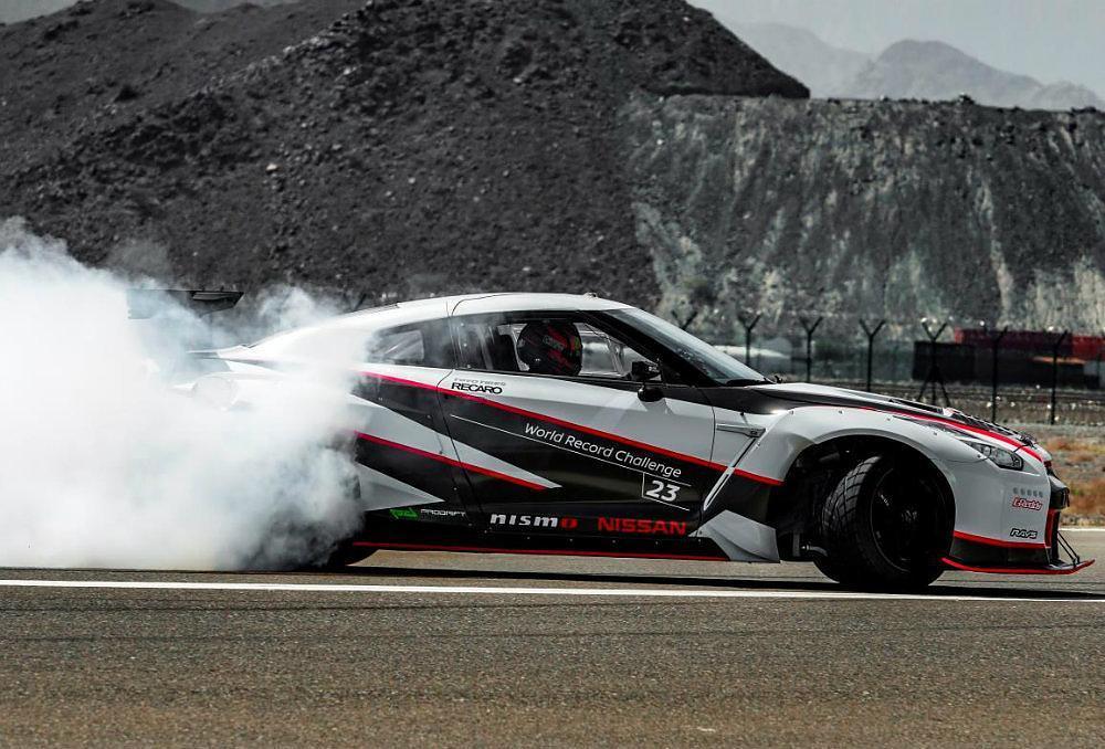 Nissan GT R Drift