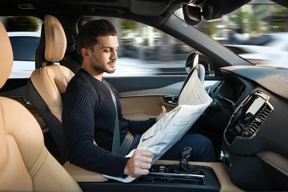 Volvo Autonomous driving