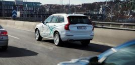 Volvo Plans Extensive Autonomous Driving Test in Britain