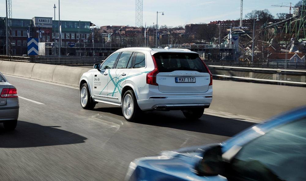 Volvo XC90 Drive Me test vehicle 2