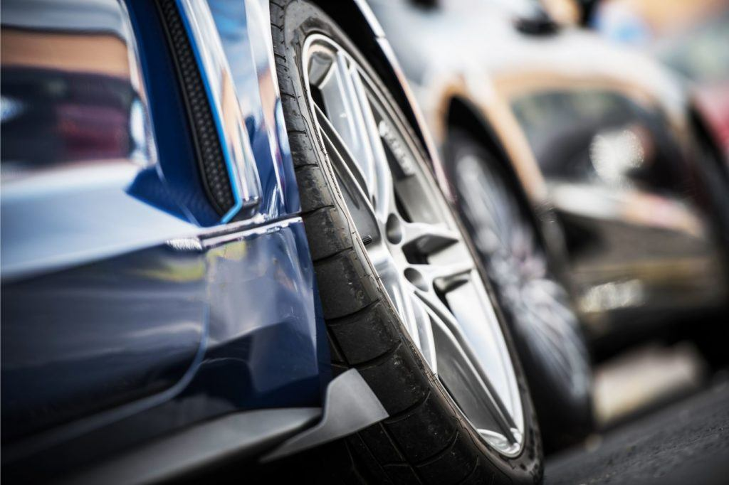 Counterfeit wheels may crack over potholes. In you are looking at replacement wheels, be sure to do your homework.