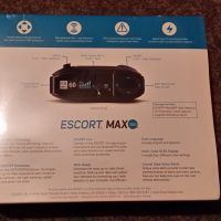 Escort Max 360 Rear Cover