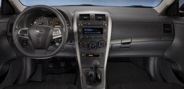 2011-2013 Toyota Corolla Interior