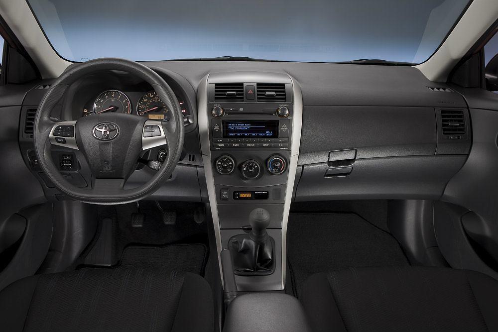 2011 2013 Toyota Corolla Interior