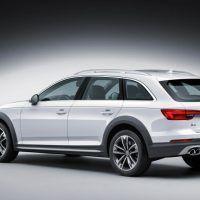 2017 Audi Allroad Left Rear Three Quarters