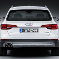 2017 Audi Allroad Rear Fascia