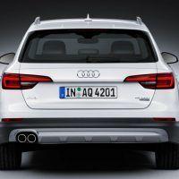 2017 Audi Allroad Rear Fascia