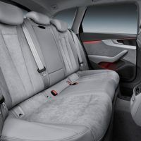 2017 Audi Allroad Rear Seats
