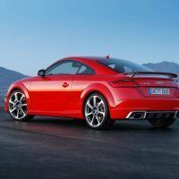 Audi TT RS Left Rear Three Quarters