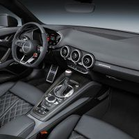 Audi TT RS Dashboard and Center Console