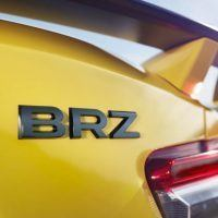 2017 Subaru BRZ Badge