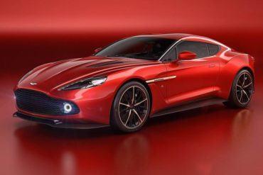 Aston Martin Vanquish Zagato concept 101 876x535