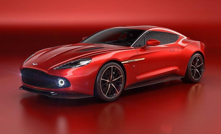 Aston Martin Vanquish Zagato concept 101