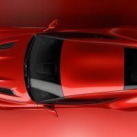 Aston Martin Vanquish Zagato Concept Overhead View