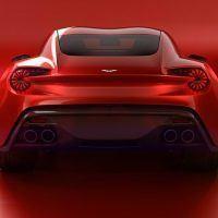 Aston Martin Vanquish Zagato Concept Rear Fascia