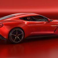 Aston Martin Vanquish Zagato Concept Right Rear Three Quarters