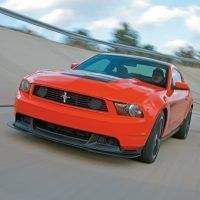 The Mustang team developed the 2012 Boss 302 as the best handling Mustang ever. Ford Motor Company Photo