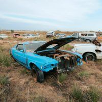 In the decade following the end of production in 1970, Boss 302s became little more than used cars. Many were discarded and left to rust away in salvage yards. Jerry Heasley