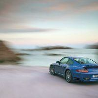 The 2006 Model 997 Turbo delivered 480 horsepower at 6,000 rpm, a 60-horsepower increase over the second-generation 996 models. Porsche offered it only on the all-wheel-drive platform. Porsche Archiv