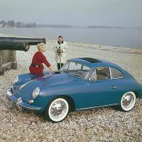 Porsche introduced the 356B in late 1959 as a 1960 model. Within Porsche it was known as Technical Program 5, or T5, and this was a chassis and platform that saw much use in developing the next and the new Porsche. Porsche Archiv