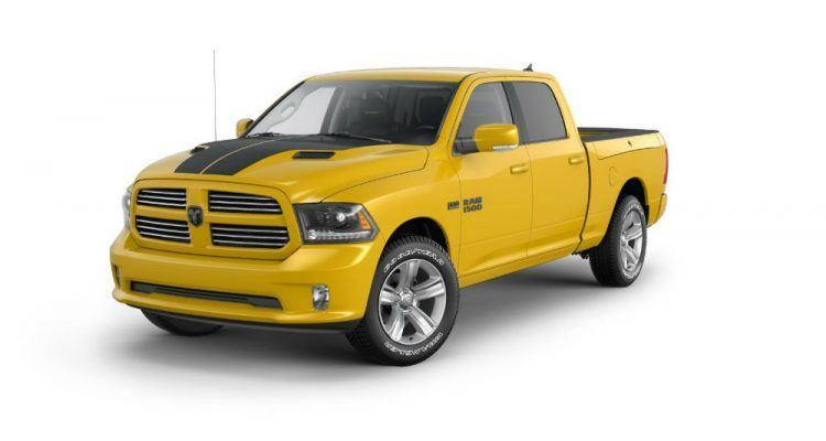 Ram 1500 Stinger Yellow Sport