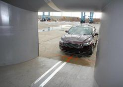 Ford's mobile wind tunnel facility. Photo: Ford Motor Company