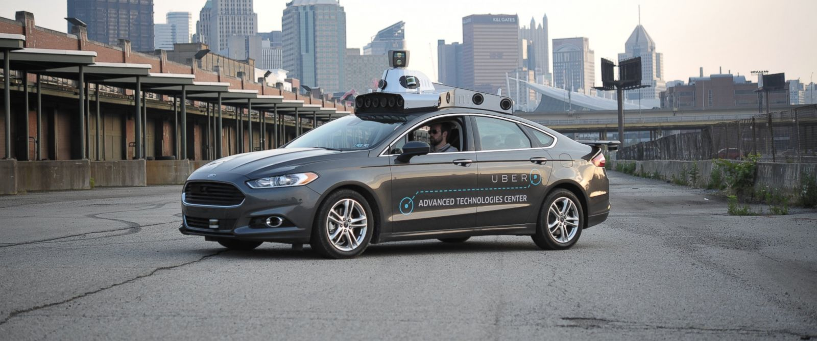 image of Uber autonomous car