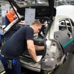 193252 Start of production of new Volvo V90 premium estate
