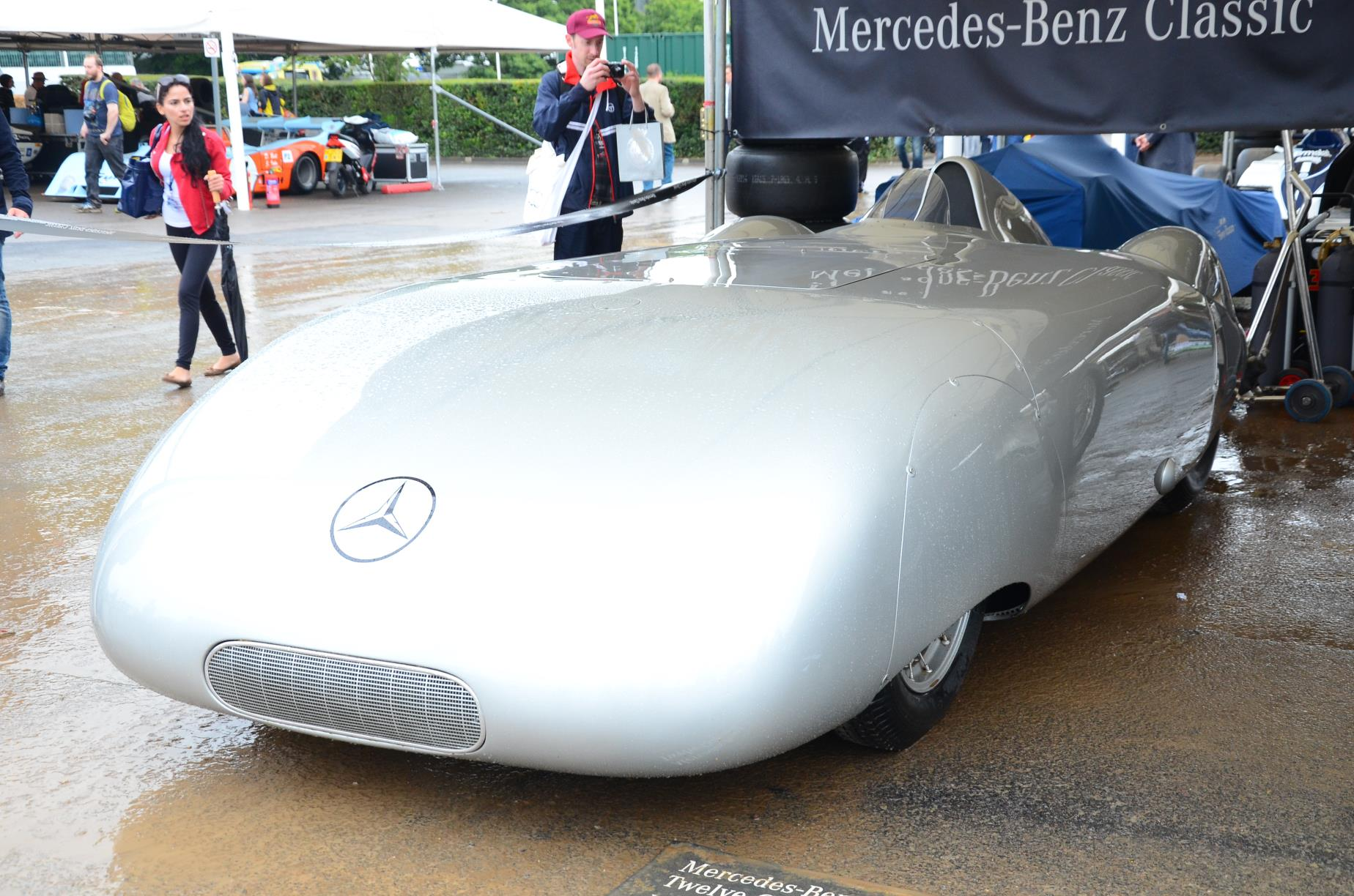 1936 Mercedes Benz W25 AVUS Streamliner 2