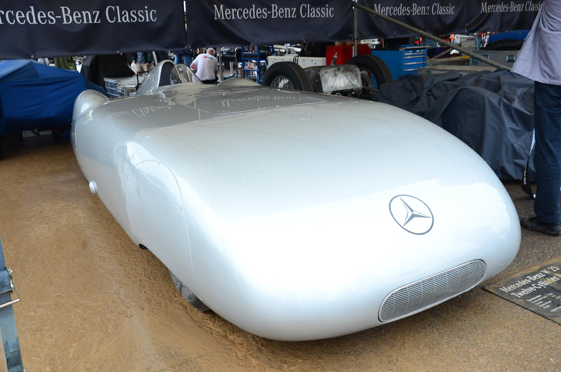 1936 Mercedes Benz W25 AVUS Streamliner 3