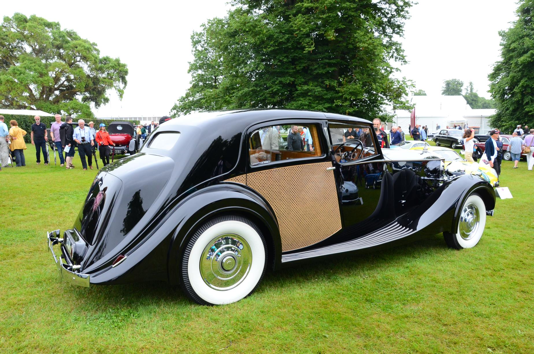 1937 Rolls Royce Phantom III Park Ward Sedanca de Ville
