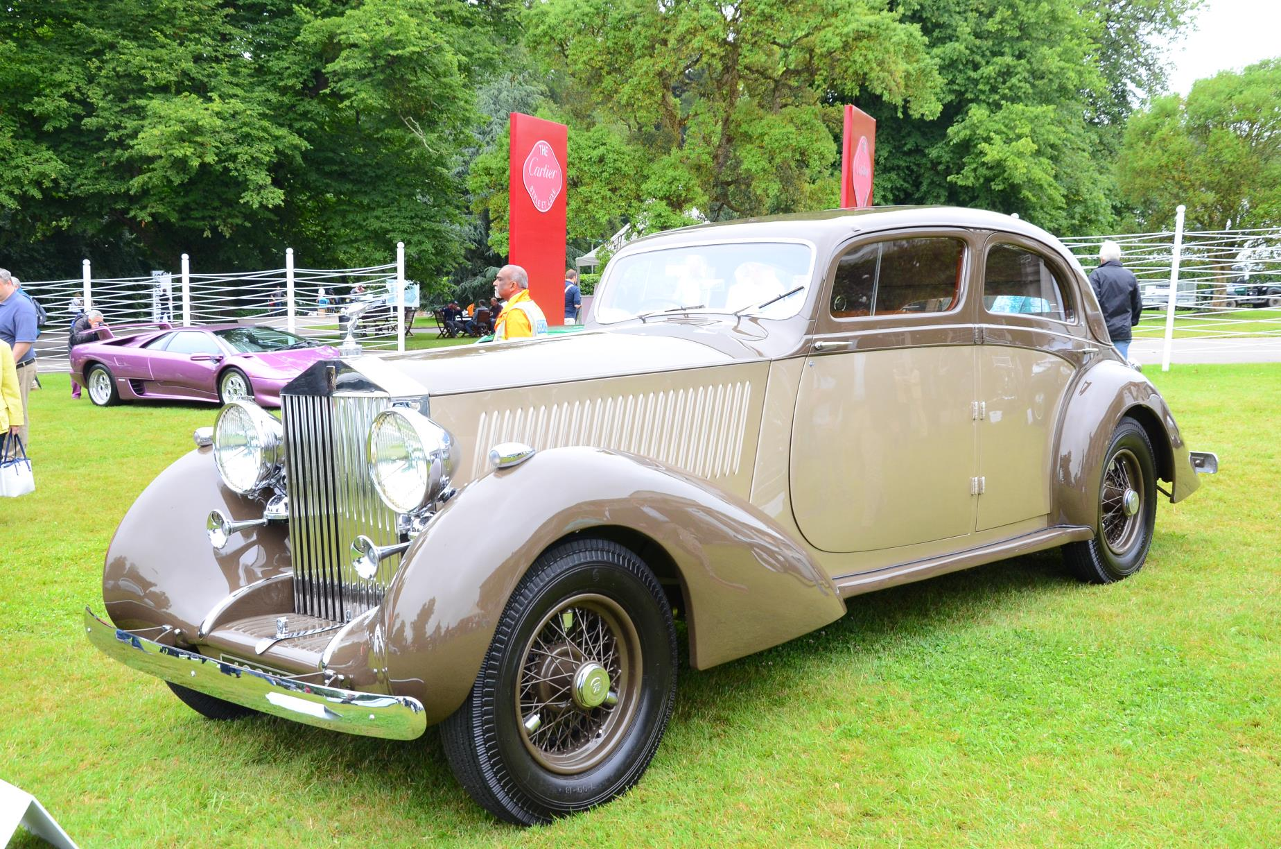 1937 Rolls RoycePhantom III Gurney Nutting Sports Saloon 2