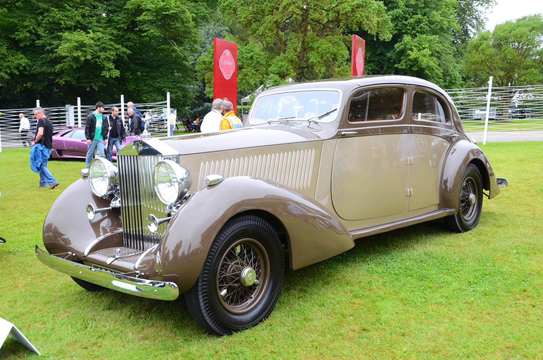 1937 Rolls RoycePhantom III Gurney Nutting Sports Saloon