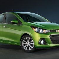 2016 Chevrolet Spark Left Front Three Quarters